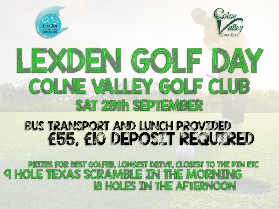 Lexden Golf Day