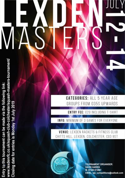 Lexden Masters Tournament