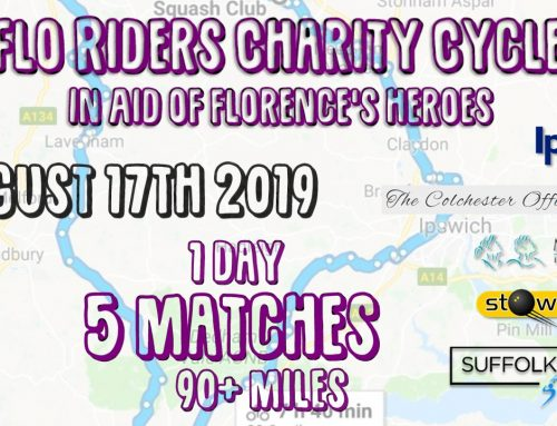 Flo Riders Charity Cycle – August 17th 2019