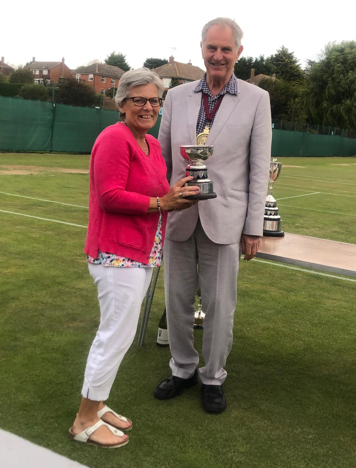 Julie Smith - Runner Up in the Restricted Ladies Singles