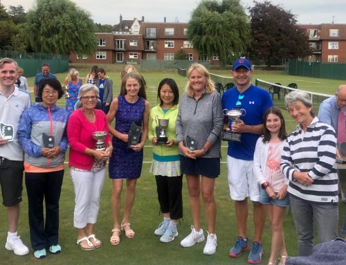 Lexden Tennis Teams at the Frinton Final's Day