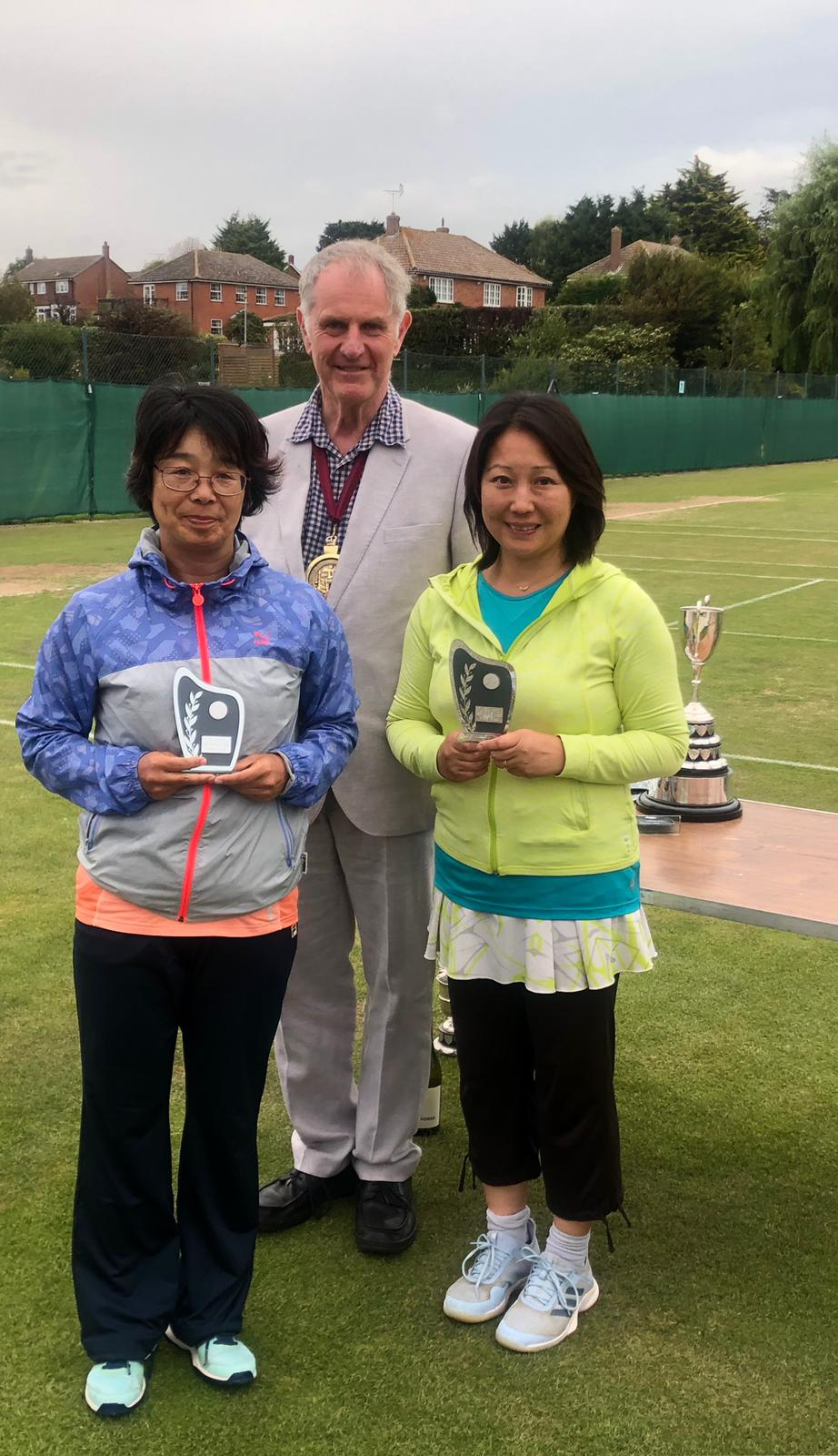 Noriko Kelly and Takako Woods – Runners up in the Restricted Ladies Doubles