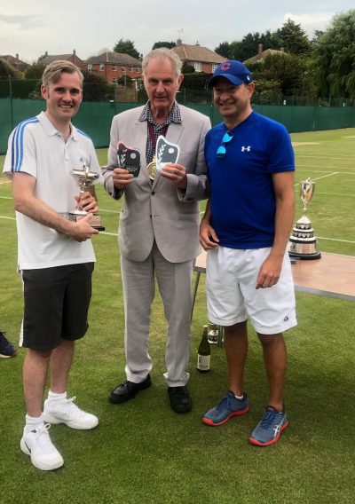 Matthew Sparrow and Paul Latarche – Winners in the Restricted Men's Doubles
