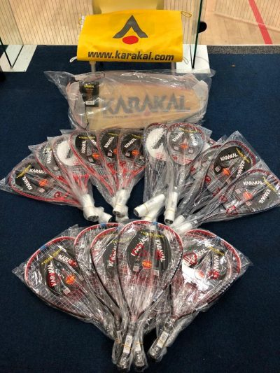 New Rackets - for new Juniors and to Hire