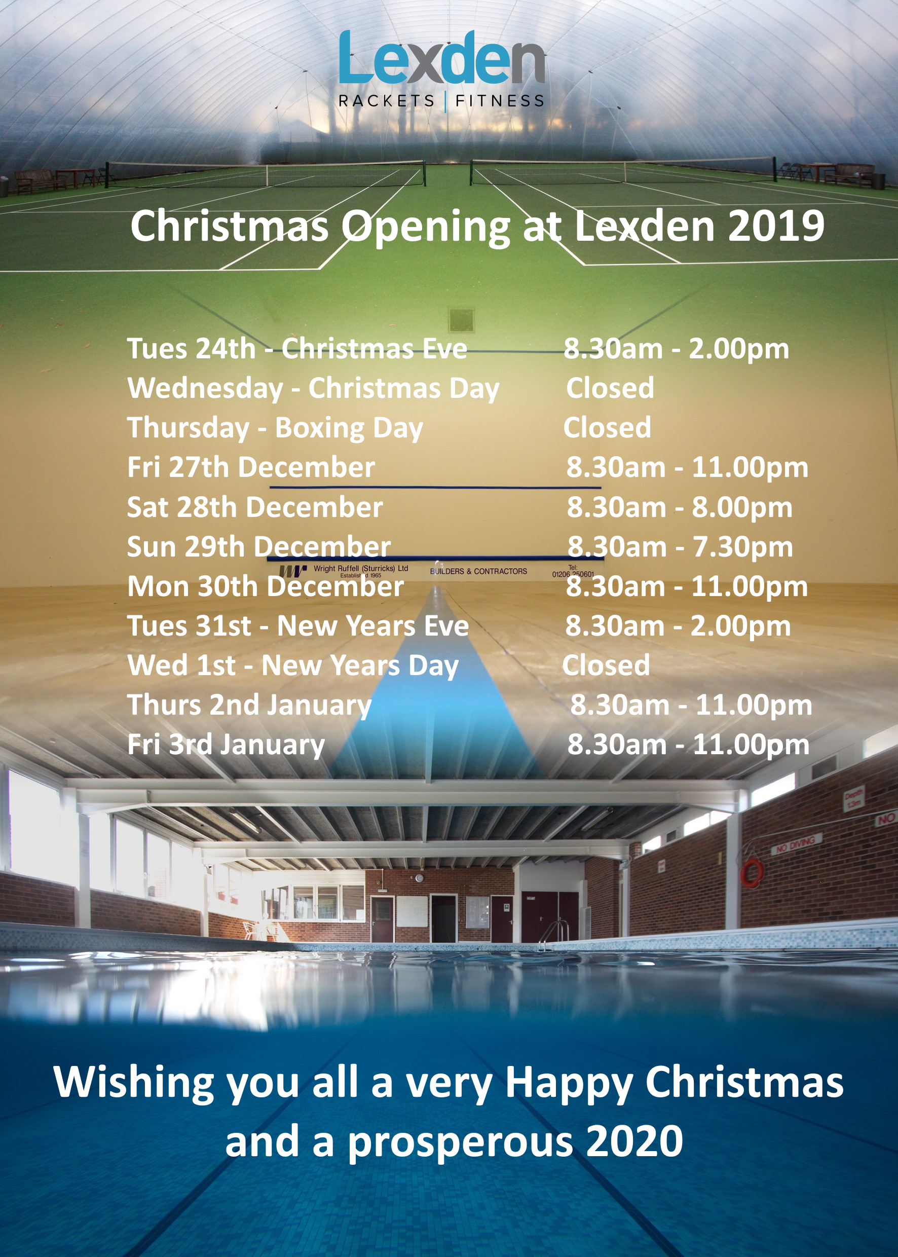 Christmas Opening at Lexden 2019