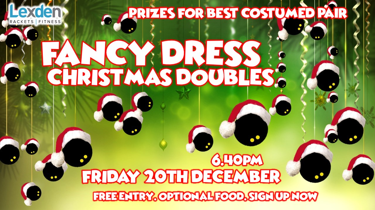 Xmas Doubles Poster