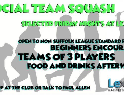 Internal Team Squash Leagues