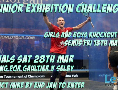 Junior Squash Exhibition Challenge